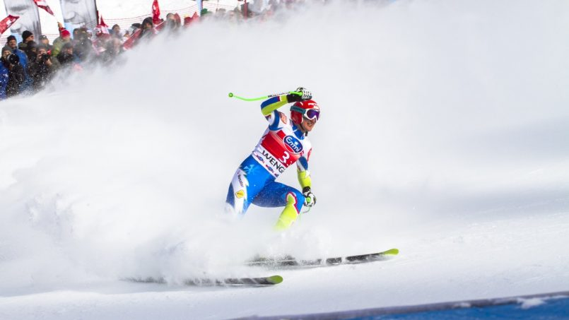 Olympic Skiers Inspire School Kids